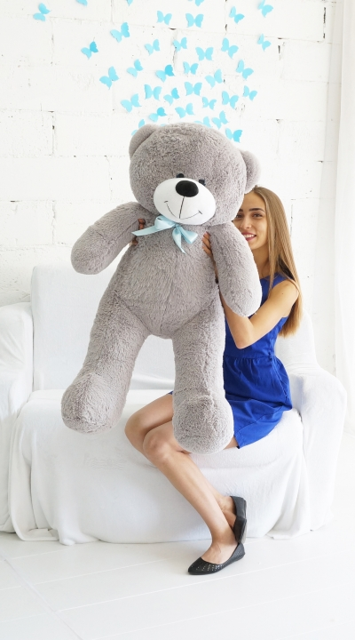 125 см Федор Серый