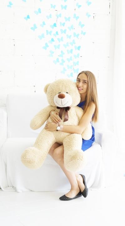 125 см Федор Бежевый